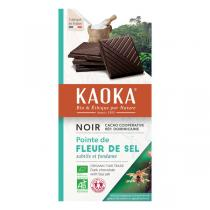 Kaoka - Tablette chocolat noir 70% Fleur de Sel 100g