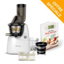Kuvings - Pack Extracteur de jus Kuving's B9400 blanc + kit smoothie