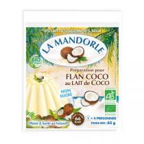 La Mandorle - Flan au lait de coco 65g