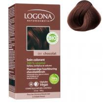Logona - Soin colorant 100% végétal Chocolat 100gr