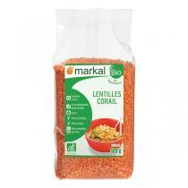Markal - Lentilles rouges corail 500g