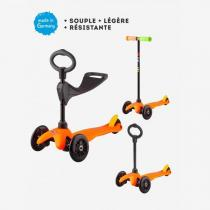 Micro - Mini 3en1 Sporty - Orange Pop barre noire - dès 1 an