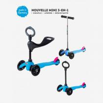Micro - Mini Micro Sporty 3in1 Neon Bleu - dès 1 an