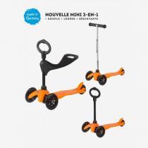 Micro - Mini Micro Sporty 3in1 Orange - dès 1 an