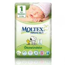 Moltex - Nature No1 Eco Nappies Size 1 Newborn 2-4 kg