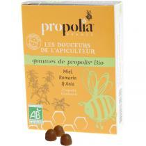 Propolia - Gommes De Propolis Bio Romarin, Citron & Anis Sachet 45 g