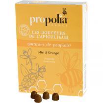 Propolia - Gommes De Propolis Miel & Orange Sachet 45 g