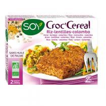 Soy - Croc Céréales Riz lantilles Colombo