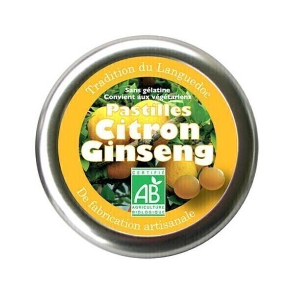 Aromandise - Pastilles Citron Ginseng 45g