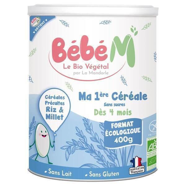 Bébé M - Ma première céréale riz et millet 400g - Dès 4 mois