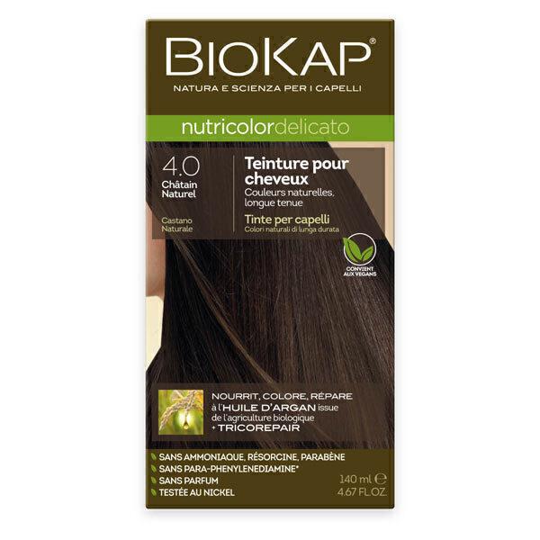 Biokap - Coloration Delicato 4.0 Châtain naturel 140 ml