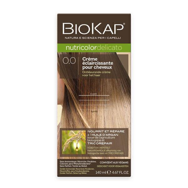 Biokap - Delicato 0.00 Crème éclaircissante 140 ml