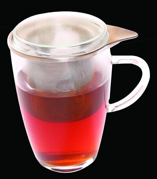 Verre infusion avec couvercle 35cl ecodis acheter sur - Saladier en verre avec couvercle ...