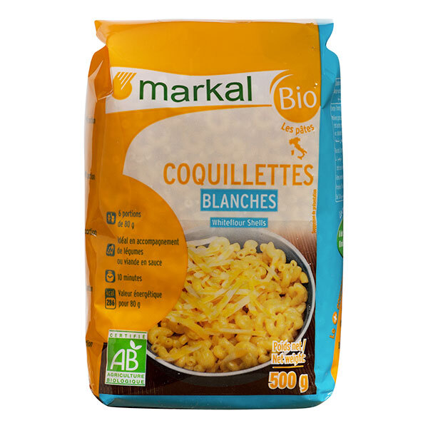 Markal - Coquillettes Blanches 500g
