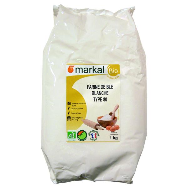 Markal - Farine de Blé T80 Bise - 1kg