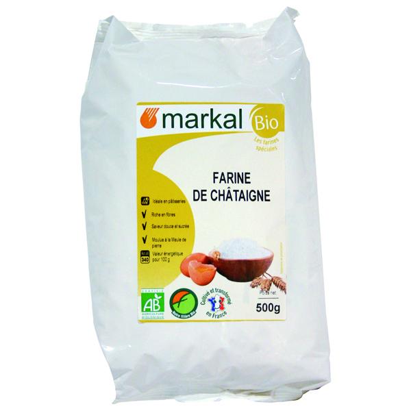 Markal - Farine de châtaigne France 500g