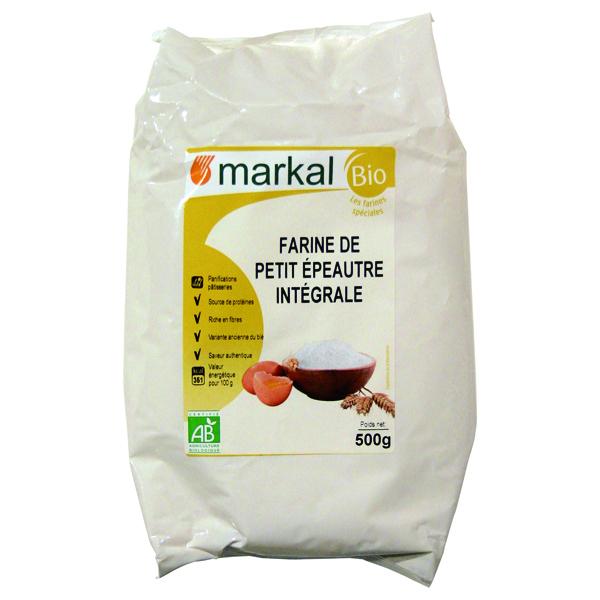 Markal - Farine de Petit Épeautre Intégrale 500g