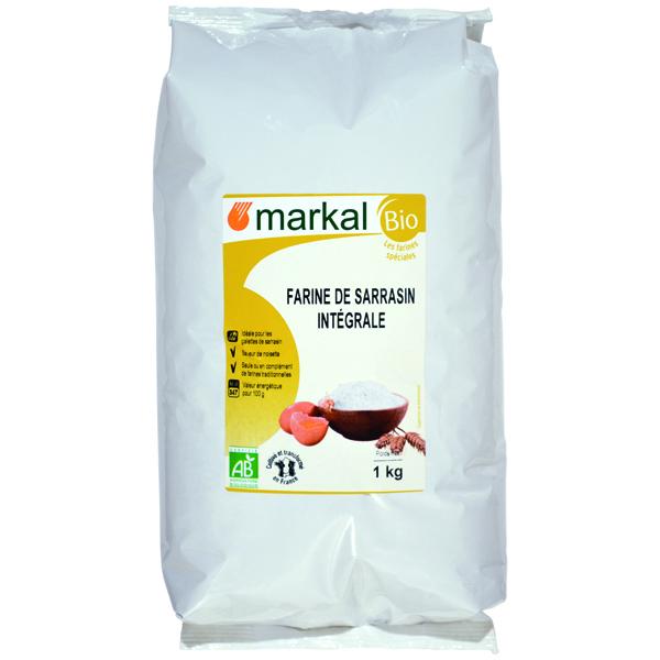 Markal - Farine sarrasin intégrale France 1kg