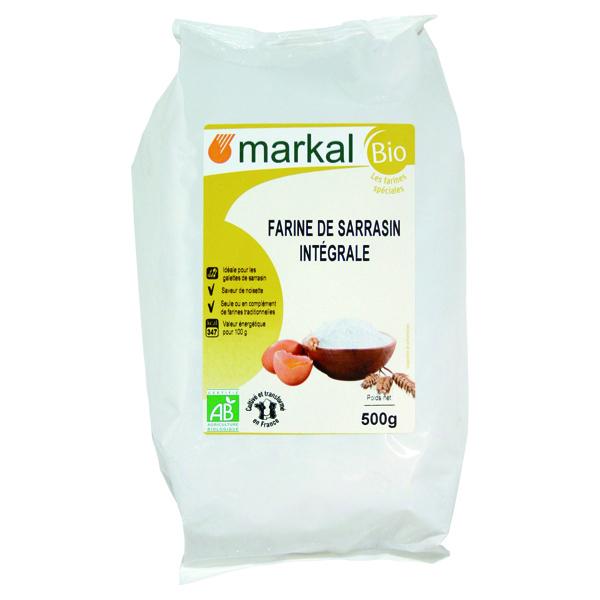 Markal - Farine sarrasin intégrale France 500g