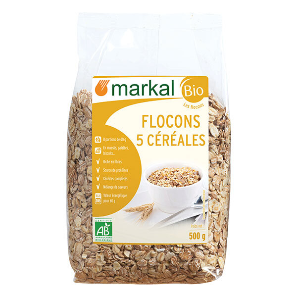 Markal - Flocons 5 céréales 500g