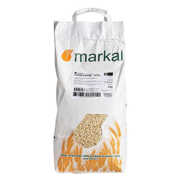 Markal - Flocons d'avoine petits 3kg