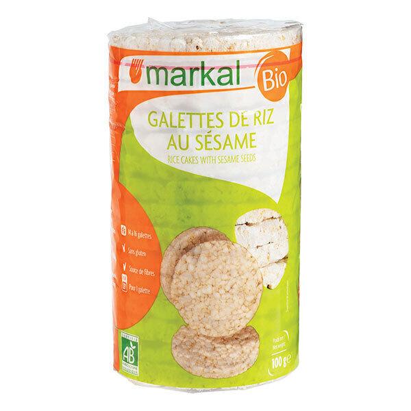 Markal - Galettes de riz au sésame 100g