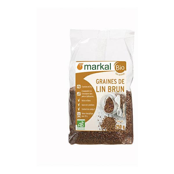 Markal - Graines de lin brun 250g