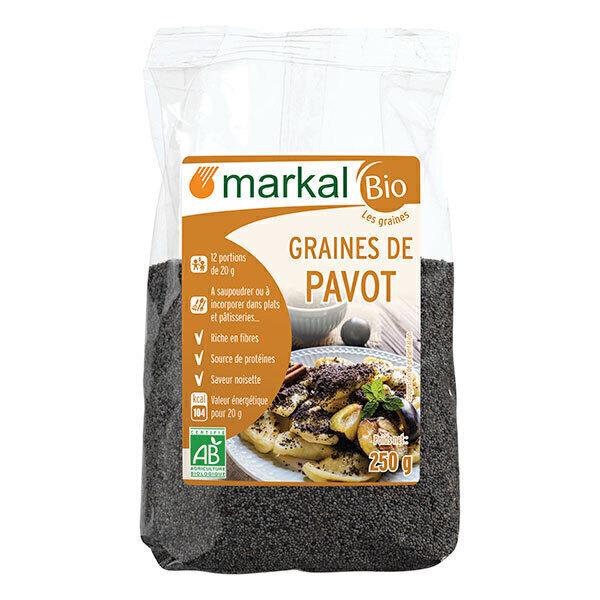 Markal - Graines de pavot bleu 250g
