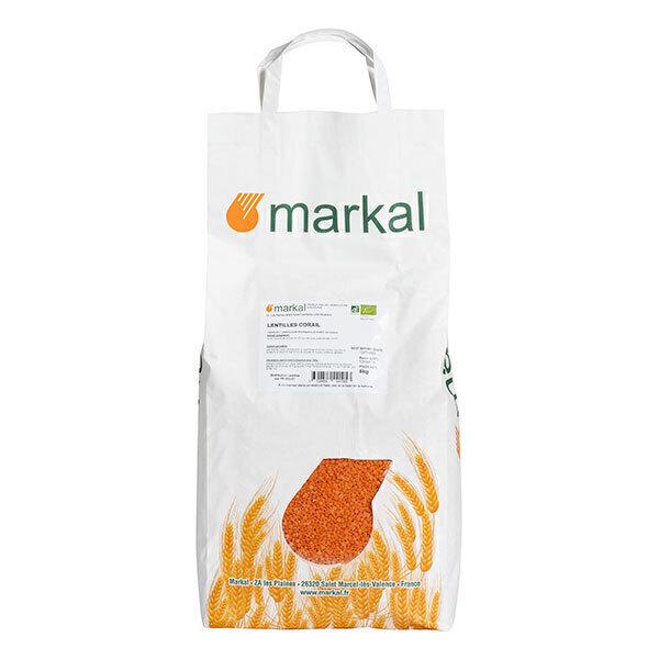Markal - Lentilles rouges corail 5kg