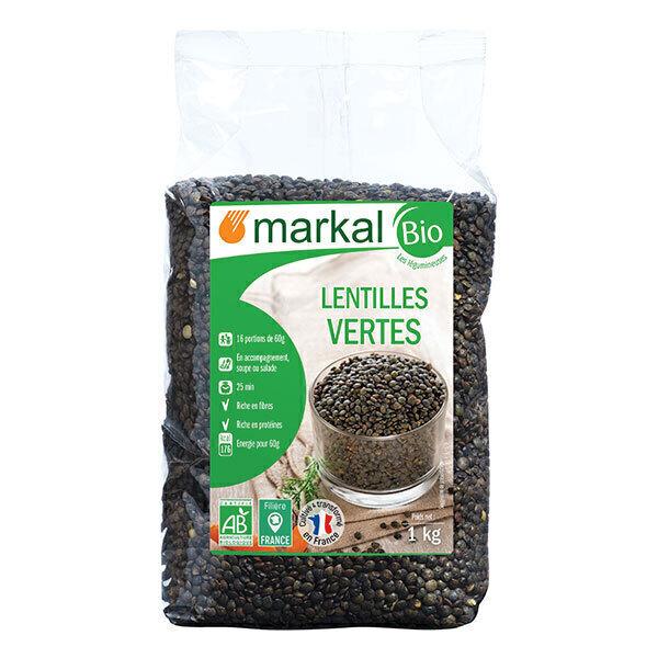Markal - Lentilles vertes 1kg
