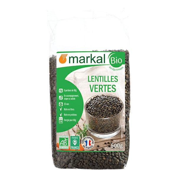 Markal - Lentilles vertes 500g