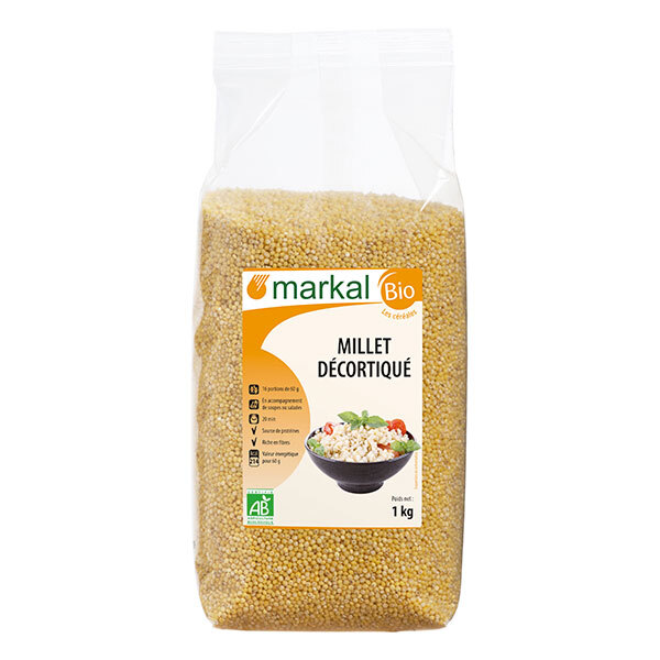Markal - Millet décortiqué 1kg