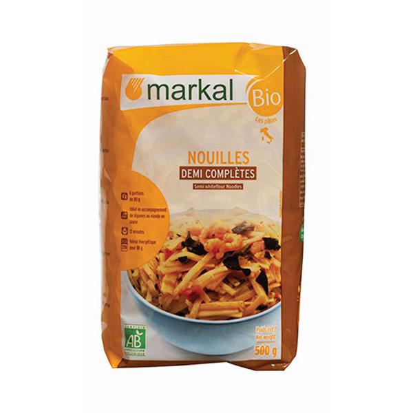 Markal - Nouilles demi-complètes 500g
