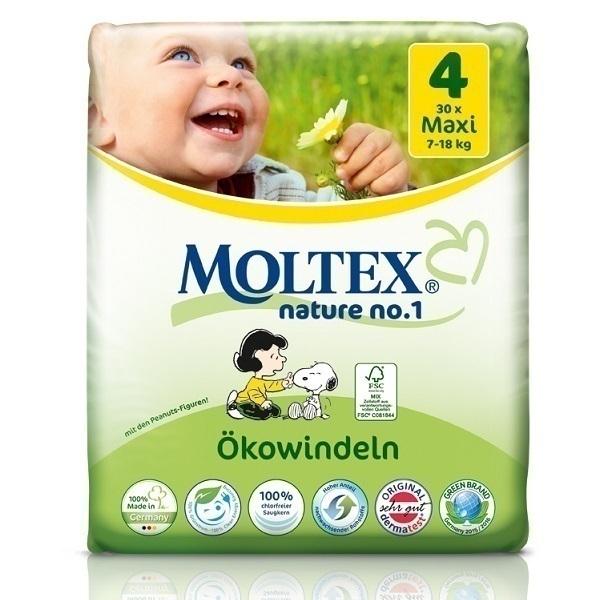 Moltex - Couches Eco-Maxi T4 Moltex 7-18 kg
