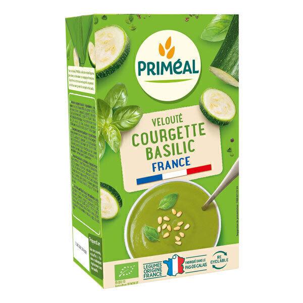 Priméal - Velouté courgetteet basilic 1l