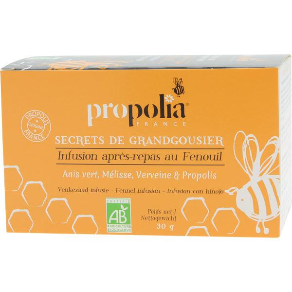 Propolia - Infusion Bio Digestion Propolis & Plantes 20 Sachets
