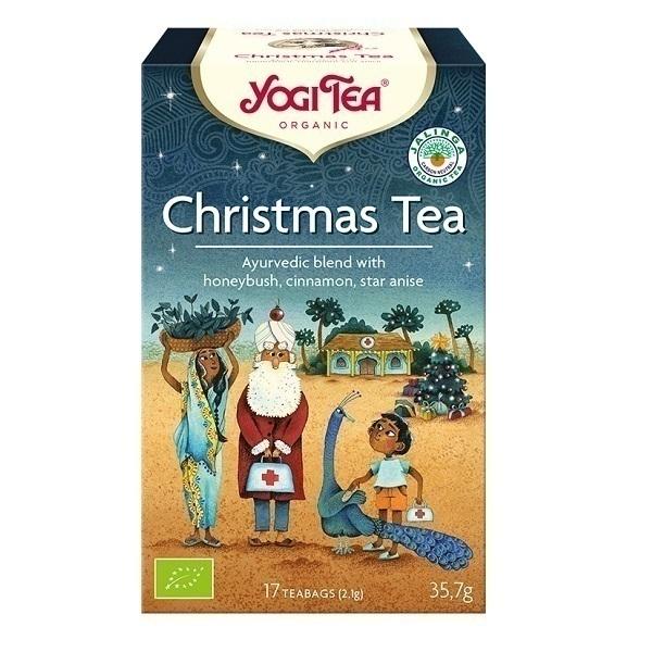 Yogi Tea - Thé rooïbos de Noël 17 sachets