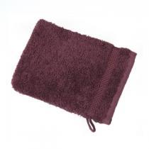 Anaé - Gant de toilette prune