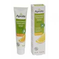 Aprolis - Dentifrice Tonifiant goût citron xylitol Propolis BIO 75 ml