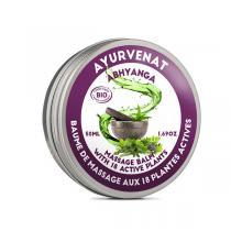 Ayurvenat - Baume ayurvédique Abhyanga 18 plantes 50ml