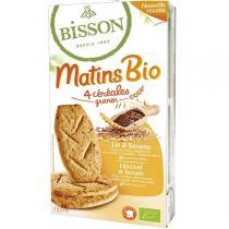 Bisson - Matins bio Sésame et Lin - 200g