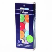 Blue - 10 veilleuses multicolores