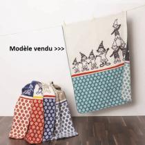 By Venga - Plaid coton bio Lutins 75x100 cm