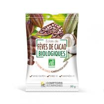 Comptoirs et Compagnies - Eclats Fèves de Cacao Bio Torrefiés - 30g