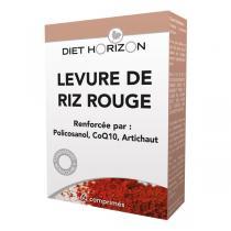 Diet Horizon - Levure riz rouge action complète 60 cpés
