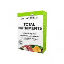 Diet Horizon - Total nutriments adulte 30 cpés