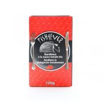 Fish4Ever - Sardines entières à la sauce tomates bio 120g