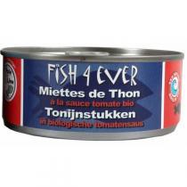 Fish4Ever - Thon à la sauce tomates bio 160g