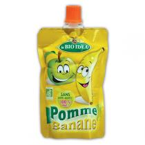 La Bio Idea - Gourde pomme-banane 100g