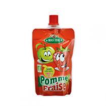 La Bio Idea - Gourde pomme-fraise 100g